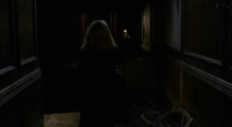 Long Dark Hallway