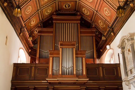 Pipe Organ In Church by Petr Kratochvil