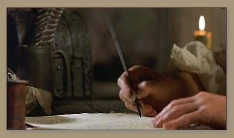 Quill Pen And Ink