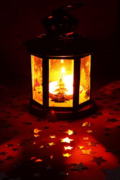 Christmas Lantern by Petr Kratochvil