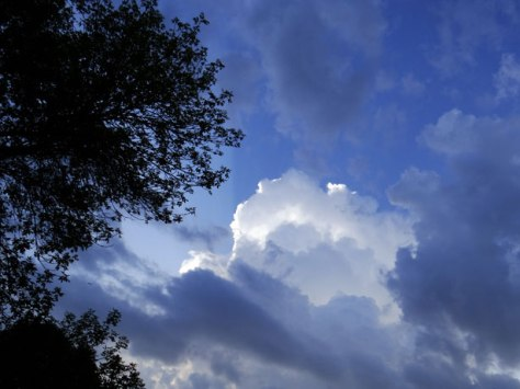 Clouds Stormy and Bright by Bobbi Jones Jones--Public Domain Pictures