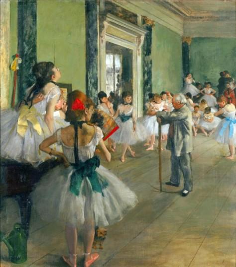 Ballet Class by Sallie Stone--Public Domain Pictures