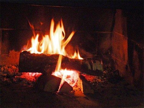 Fireplace In Sweden