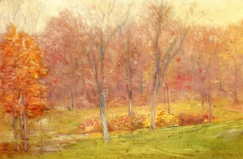 Julian Alden Weir-Autumn Rain